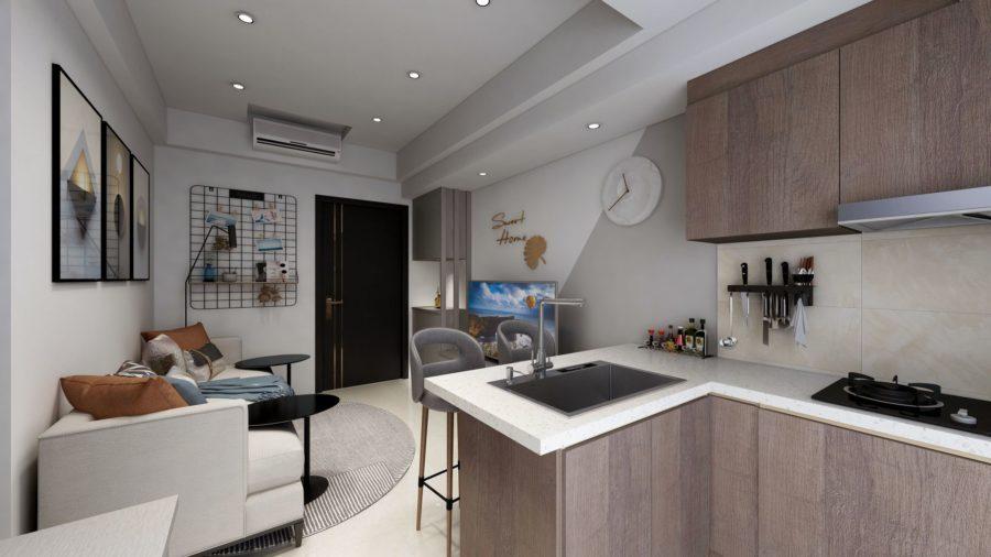 系統櫃設計裝潢美感提升,租屋好方便