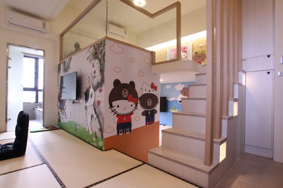 系統家具上下舖設計首重兒童安全