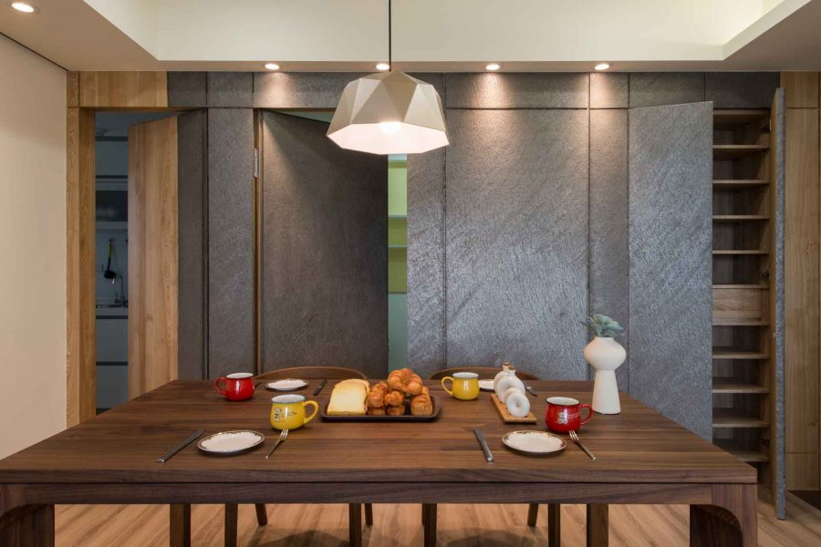 室內裝潢 系統家具輕鬆幫你換新餐廳
